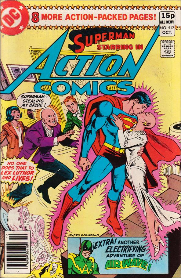 Action Comics (1938) 512-B by DC