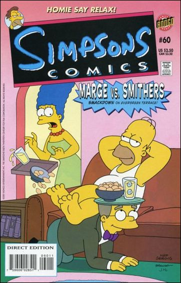 Simpsons Comics 60-A by Bongo