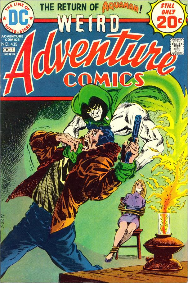 Adventure Comics (1938) 435-A by DC