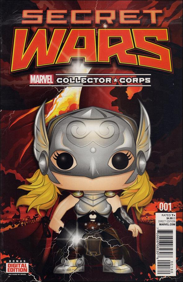 Secret Wars 1-SY by Marvel