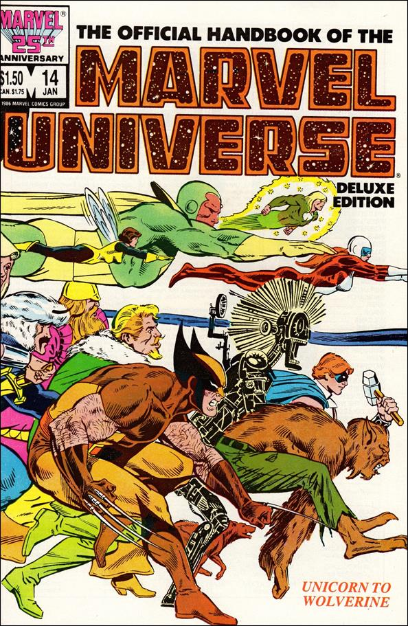 Official Handbook of the Marvel Universe (1985) 14-A by Marvel
