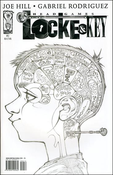 Locke & Key: Head Games 2-B by IDW