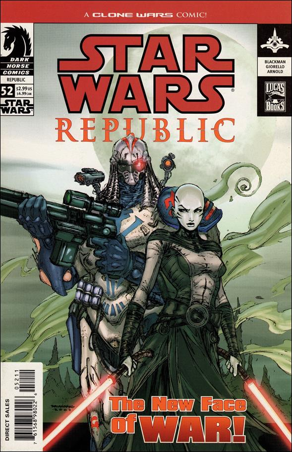 Star Wars/Star Wars Republic 52-A by Dark Horse