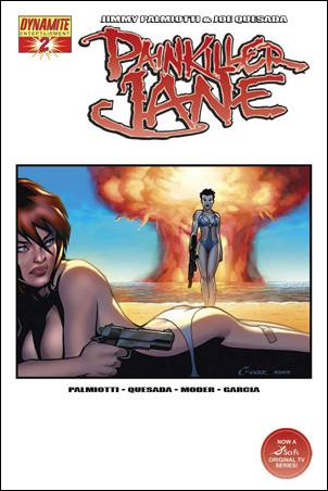 Painkiller Jane (2007) 2-D by Dynamite Entertainment