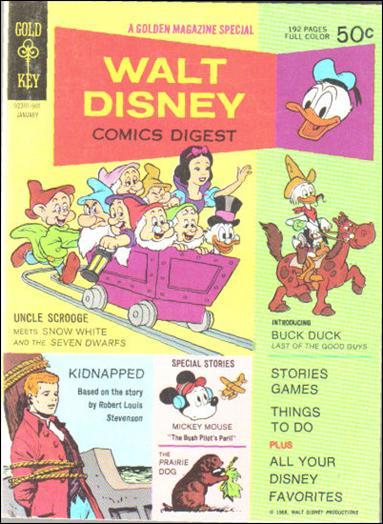 Walt Disney Comics Digest 7-A by Gold Key