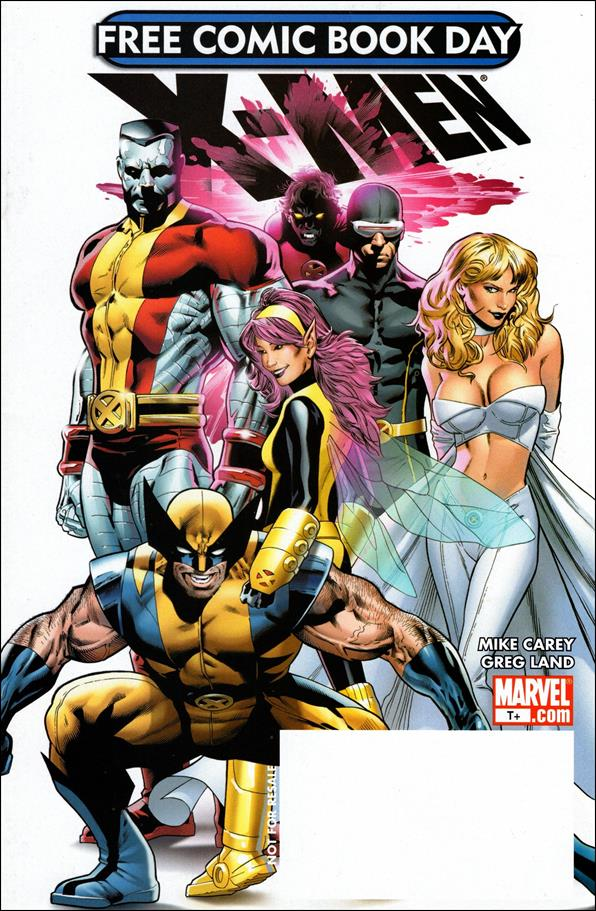 Free Comic Book Day 2008 X-Men 1-A by Marvel