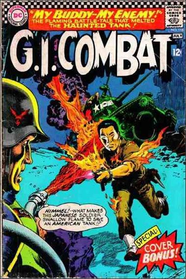 G.I. Combat (1952) 118-A by DC