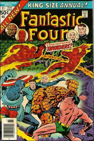 Fantastic Four Annual  11-A by Marvel