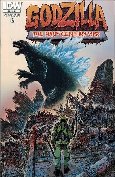 Godzilla: Half Century War  1-A by IDW