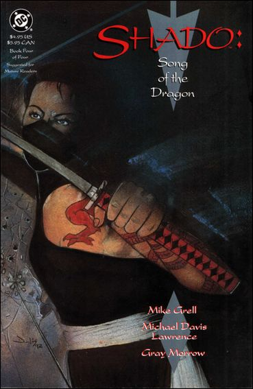 Shado: Song of the Dragon 4-A by DC