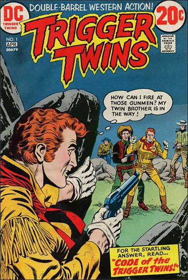Trigger Twins 1-A by DC