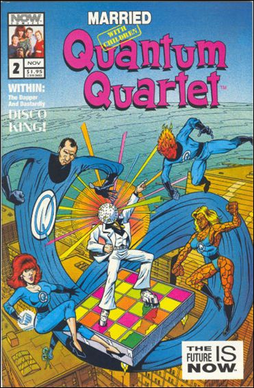 Married... with Children: Quantum Quartet 2-A by Now Comics