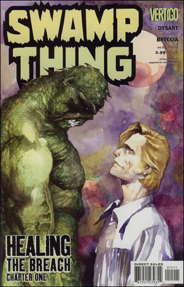 Swamp Thing (2004) 15-A by Vertigo