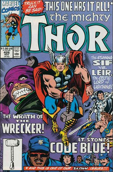 Thor (1966) 426-A by Marvel