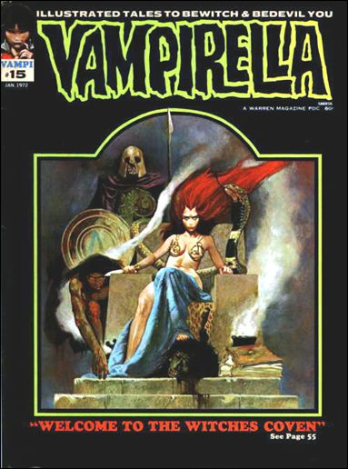 Vampirella 15-A by Warren