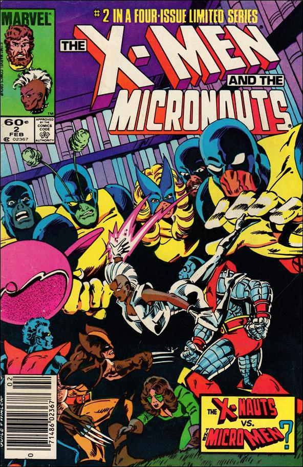 X-Men and the Micronauts 2-A by Marvel