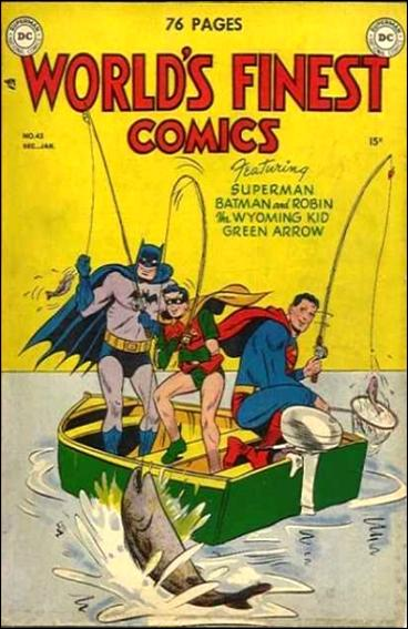 World's Finest Comics 43-A by DC