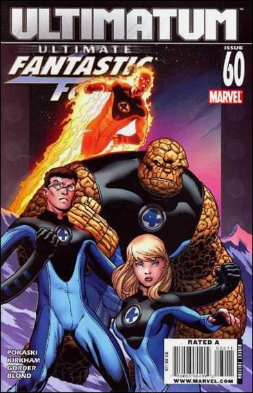 Ultimate Fantastic Four 60-A by Marvel