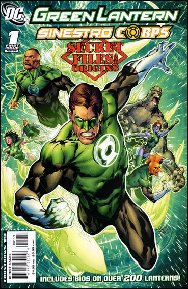 Green Lantern/Sinestro Corps: Secret Files 1-A by DC