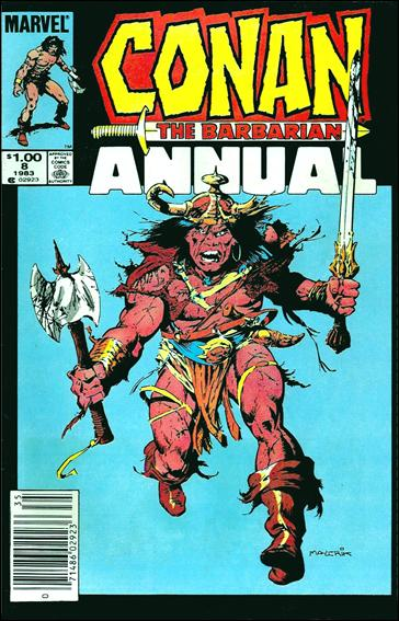 Conan Annual 8-A by Marvel