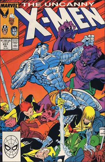Uncanny X-Men (1981) 231-A by Marvel
