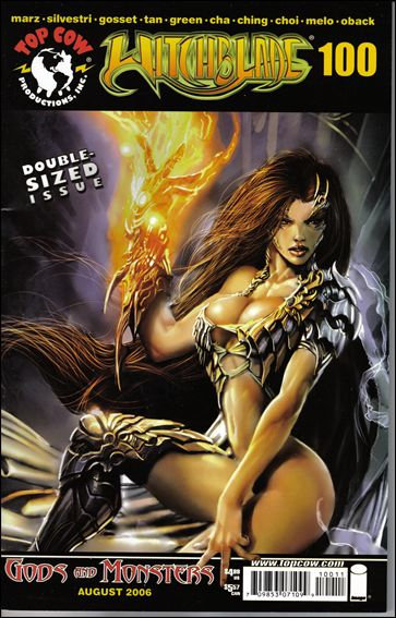 Witchblade 100-A by Top Cow