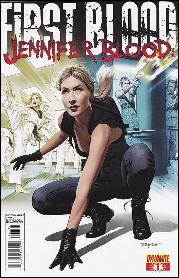 Jennifer Blood: First Blood 1-A by Dynamite Entertainment