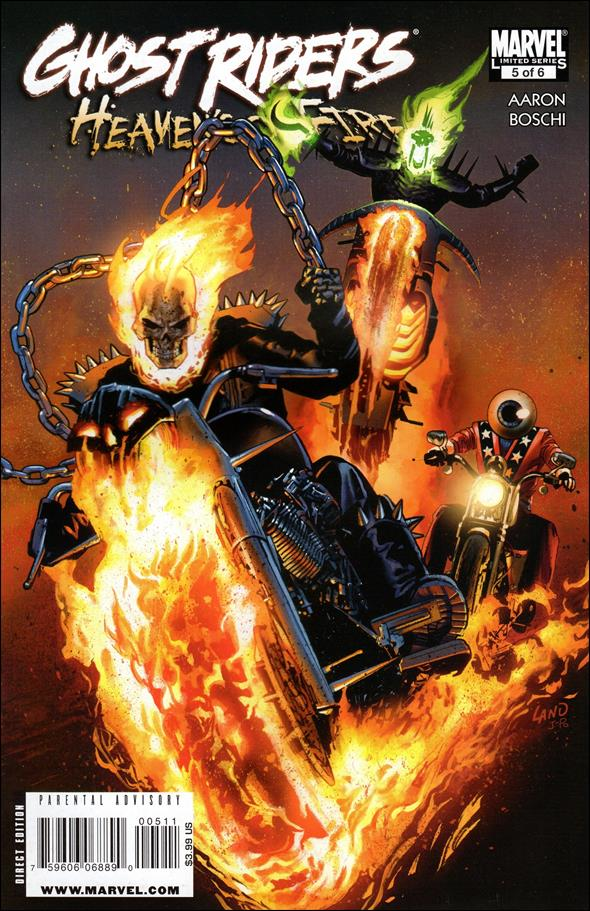 Ghost Riders: Heaven's On Fire 5-A by Marvel