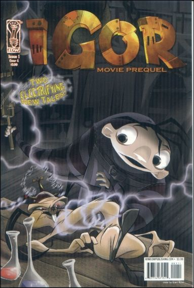 Igor: Movie Prequel 1-A by IDW