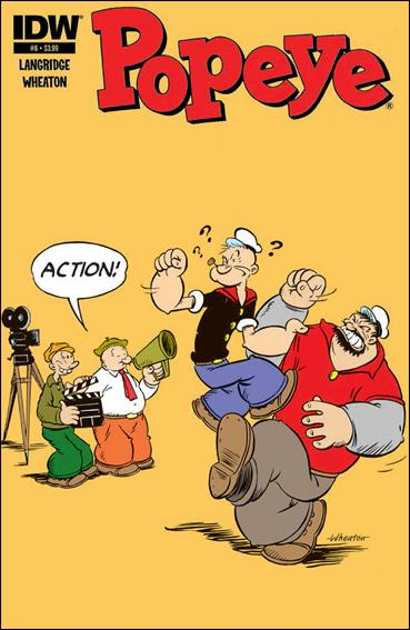 Popeye (2012) 6-A by IDW