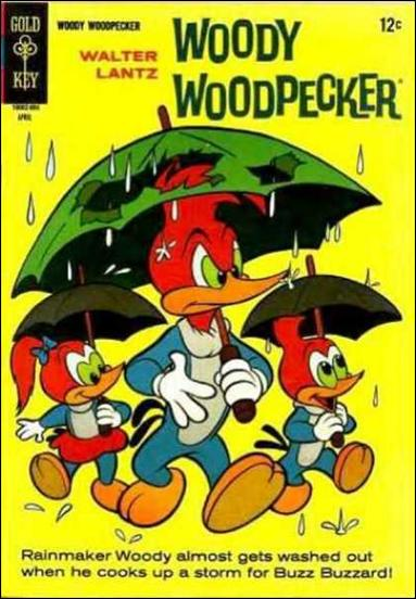Walter Lantz Woody Woodpecker  90-A by Dell