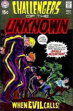 Challengers of the Unknown (1958) 71-A by DC