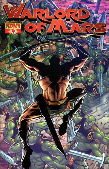 Warlord of Mars 4-C by Dynamite Entertainment
