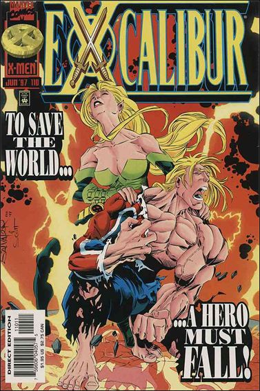Excalibur (1988) 110-A by Marvel