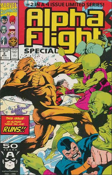 Alpha Flight Special (1991) 2-A by Marvel