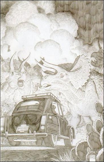 Jurassic Park (2010) 2-C by IDW