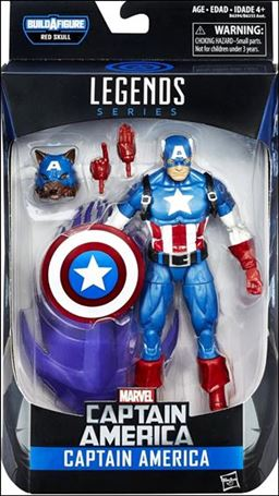 Marvel Legends Series: Captain America (Red Skull Series) Captain America