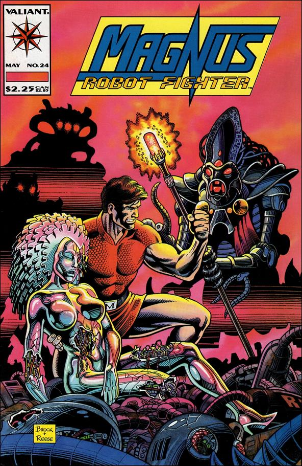 Magnus Robot Fighter (1991) 24-A by Valiant