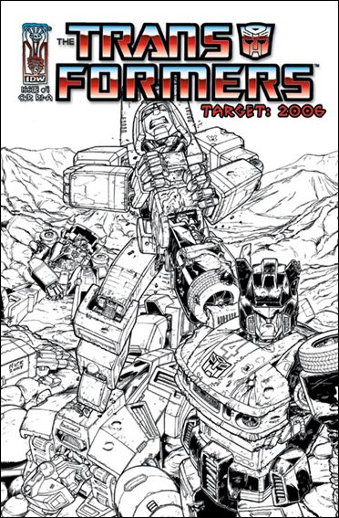 Transformers: Target 2006 4-C by IDW