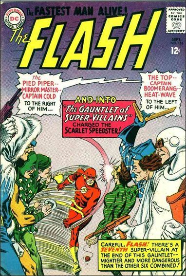Flash (1959) 155-A by DC