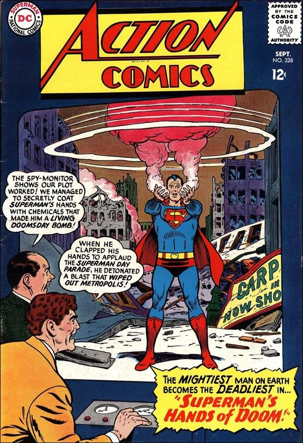 Action Comics (1938) 328-A by DC