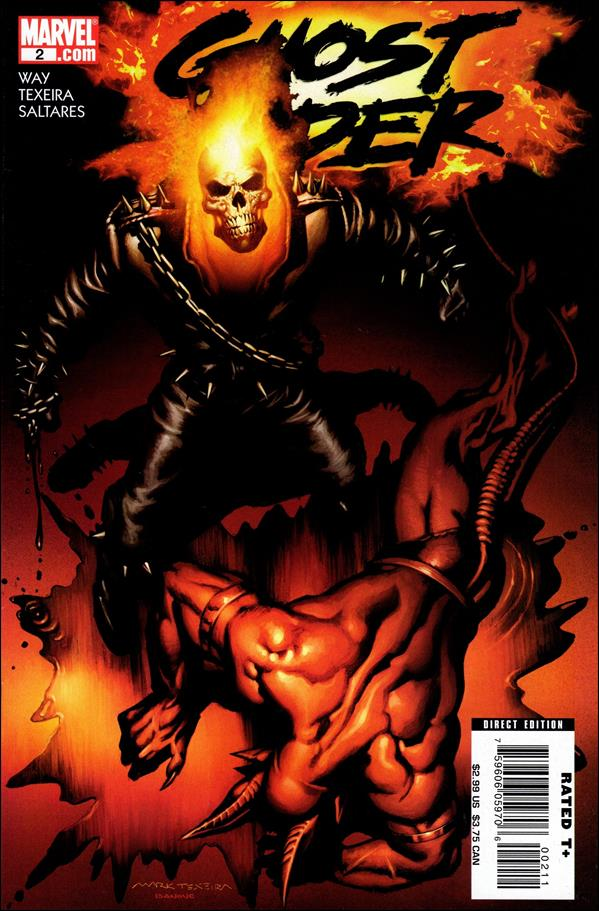 Ghost Rider (2006) 2-A by Marvel