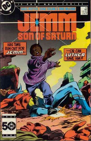 Jemm, Son of Saturn 10-A by DC