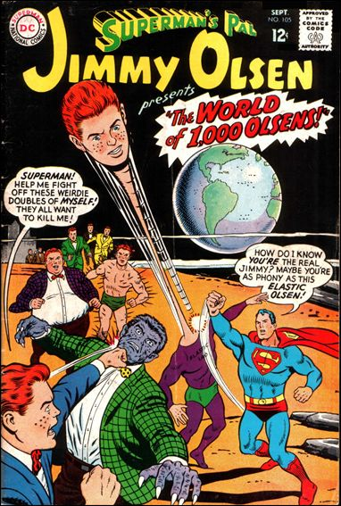 Superman's Pal Jimmy Olsen 105-A by DC