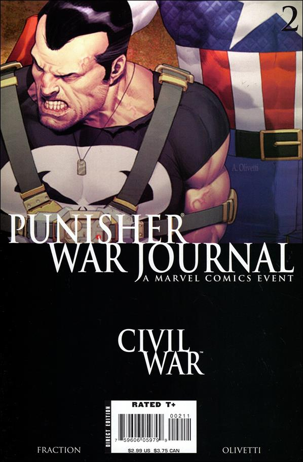 Punisher War Journal (2006) 2-A by Marvel