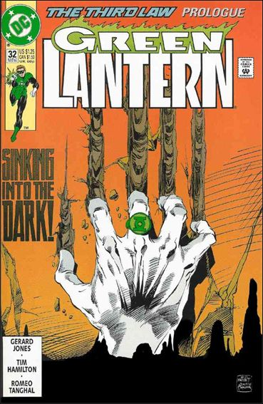 Green Lantern (1990) 32-A by DC