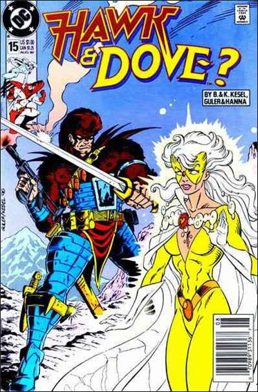 Hawk and Dove (1989) 15-A by DC
