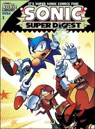 Sonic Super Digest 3-A