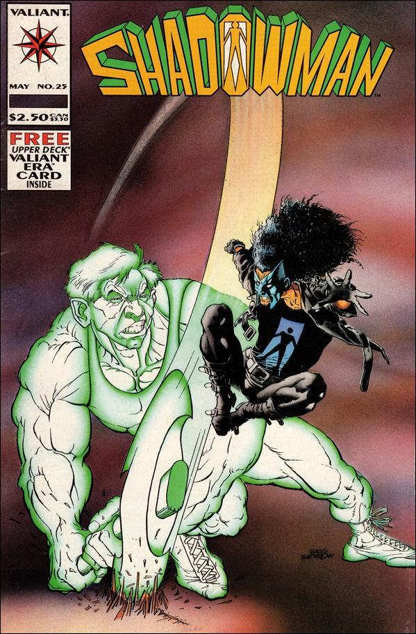Shadowman (1992) 25-A by Valiant