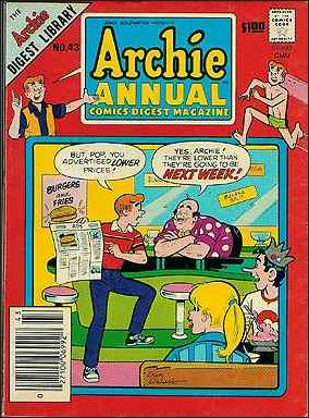 Archie Annual Digest Magazine 43-A by Archie